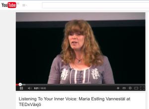 Maria Estling Vannestål, Tedx Växjö, Ted Talks